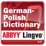 ABBYY Lingvo x3 Mobile German - Polish Dictionary