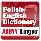 ABBYY Lingvo x3 Mobile Polish - English Collins Dictionary