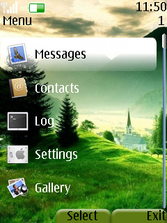 Nokia 205 Mobile Themes