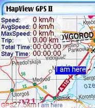 MapViewGPS II s90