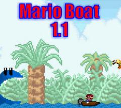 PSP Homebrew: Mario Boat version 1.1