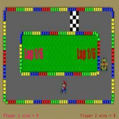 PSP Homebrew: Mario Kart PSP
