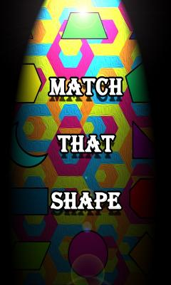 Match That Shape Geometry Memory Game