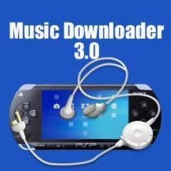 PSP Homebrew: Music Downloader 3.0