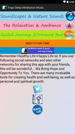 Meditation Yoga Nature & Sleep