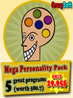 CrazySoft Mega Personality Pack for Nokia S60 5th Edition