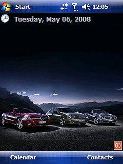 Mercedes Benz theme