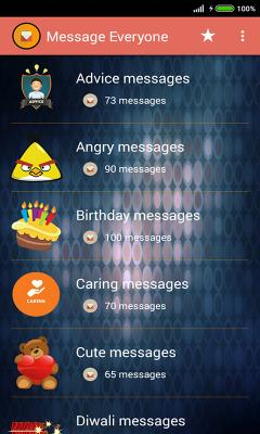 Message Everyone: SMS Messages collection App