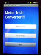 Meter Inch Converter