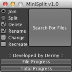 Minisplit Works on All OSes, Splits Large PS3 Backups
