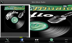 Mint Music Radio - Tablet