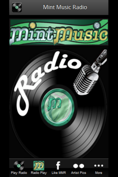 Mint Music Radio - Windows Phone