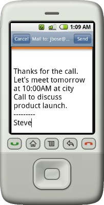 Upvise Mobile Contacts