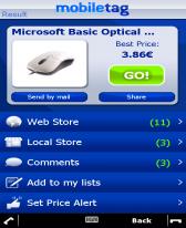 mobiletag barcodes reader