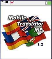 Mobile Translator English-French