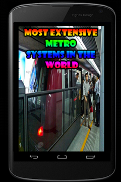 Most Extensive Metro Systems In The World