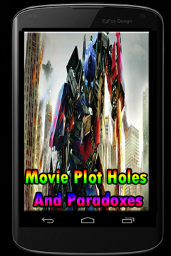 Movie Plot Holes And Paradoxes