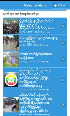 Myanmar Alerts