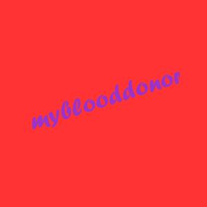 MyBloodDonor