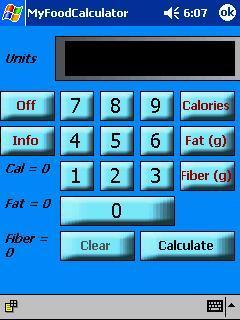 MyFoodCalculator