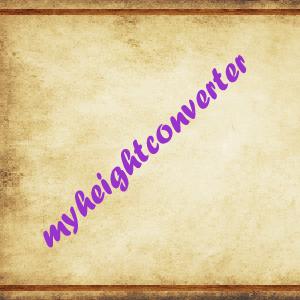 MyHeightConverter
