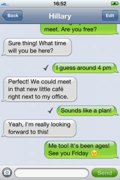 mysms for iPhone