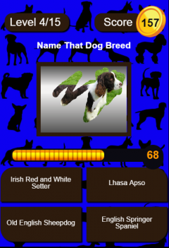 Name That Dog Breed Trivia Educational Kids Game