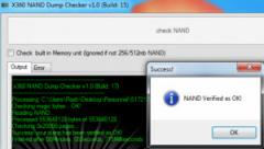 x360 NAND Dump Checker