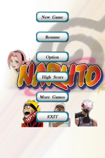 Naruto Whack Game