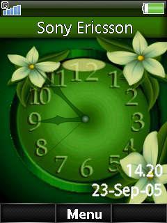 Nature Dual Clock