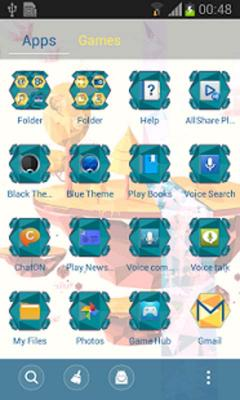 Nature Go Launcher Theme New