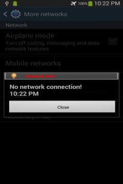 Network Alert Ad