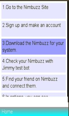 Nimbuzz Messenger Review