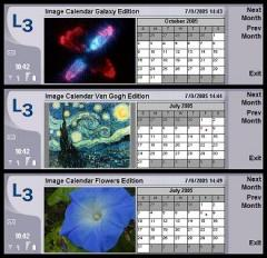 Image Calendar Monet Edition for 9500/9300