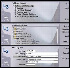 NutriLog (Nokia 9500/9300)