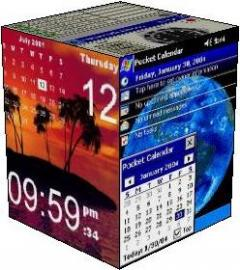 Collection of PocketPC Clocks/calendars