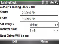 oldSAP TalkingClock