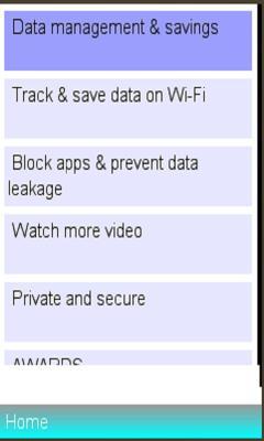 Opera Max Data media Info