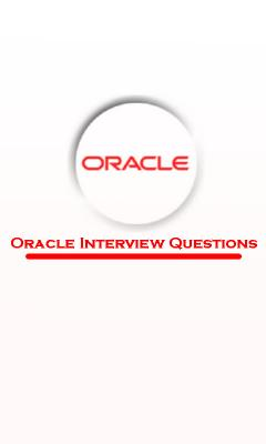 Oracle Interview Q_A