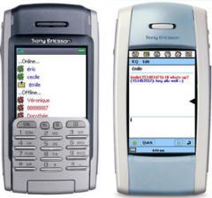 ICQ for UIQ (Sony Ericsson P800/P900 Motorola A920/925