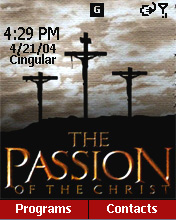 The Passion of Christ Home Screen