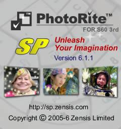 PhotoRite SP for S60 3rd edition