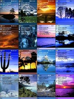 PocketPC Nature Theme Collection (over 330 themes)