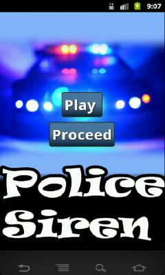 Police Siren Prank