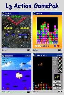 Action GamePak for Pocket PC