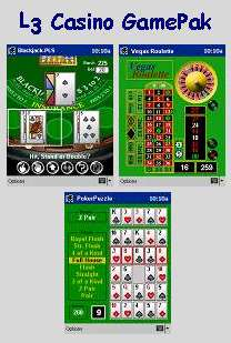 Casino GamePak for Pocket PC