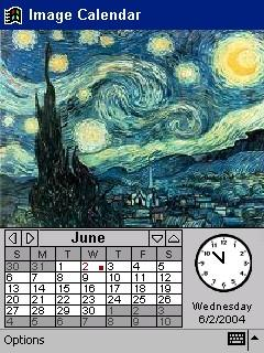 Image Calendar Van Gogh Edition for Pocket PC