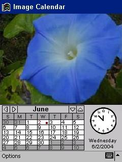 Image Calendar Flowers Edition for Pocket PC