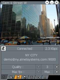 PocketVDR-C: Live-video and video archives from locations miles away to your PocketPC