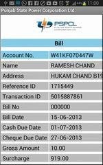 PSPCL Electricity Bill